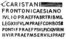 Second Antiochene inscription, JRS 3 p. 254