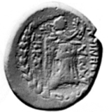 Photo of Coin of Damascenes, 16 AD, item 4797 in Burnett